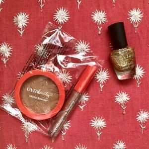 NEW. Ulta Beauty Matte Bronzer and Lip Plump Coat